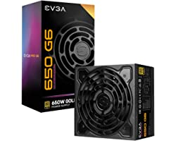 EVGA Supernova 650 G6, 80 Plus Gold 750W, Fully Modular, Eco Mode with FDB Fan, 10 Year Warranty, Includes Power ON Self Test