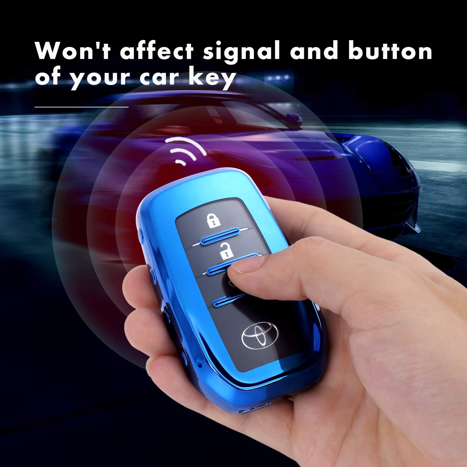 Pink Key Fob Case for Nissan Infiniti Teana X-Trail Qashqai Livina Sylphy Premium Soft TPU Full Cover Protection Smart Remote Keyless Junwei for Nissan Key Fob Cover for 3 Button only