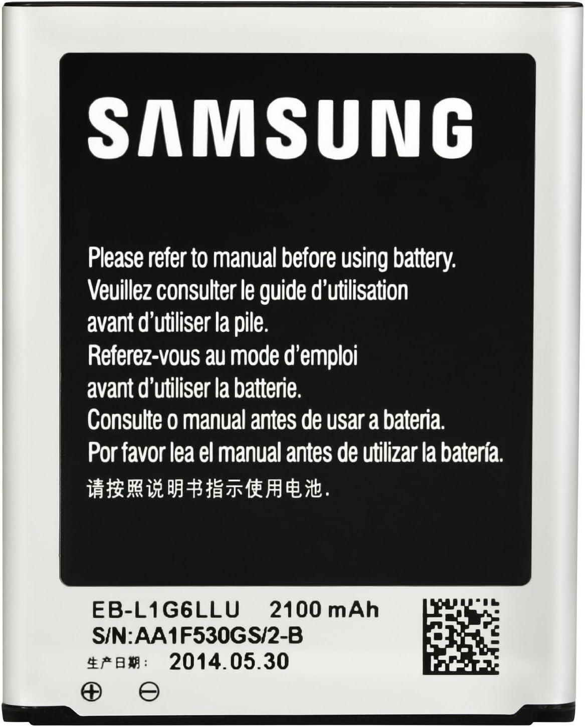 SAMSUNG Batería Original EB-L1G6LLU para Galaxy S3 - GT-i9300 (1 Unidad)