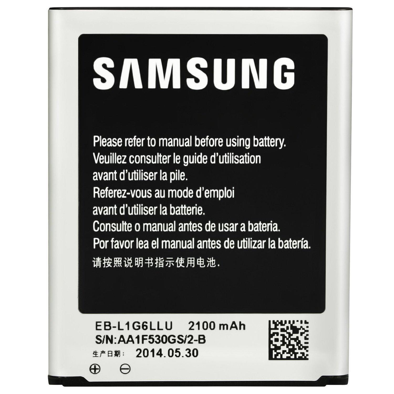 Samsung BT-EBL1G6LLU3 EB-L1G6LLU 2100 mAh Battery for Galaxy S3//S3 Neo