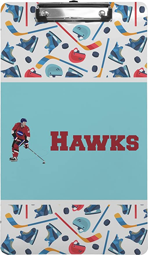Amazon com : Hockey 2 Clipboard (Legal Size) (Personalized) : Office