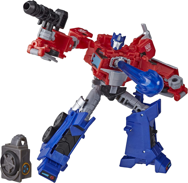 Transformers Cyberverse Deluxe Optimus Prime (Hasbro E70965X0): Amazon.es: Juguetes y juegos