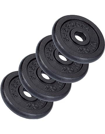 Discos de pesas para musculación | Amazon.es