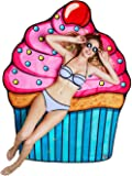 BigMouth Inc Badetuch Cupcake Beach Towel