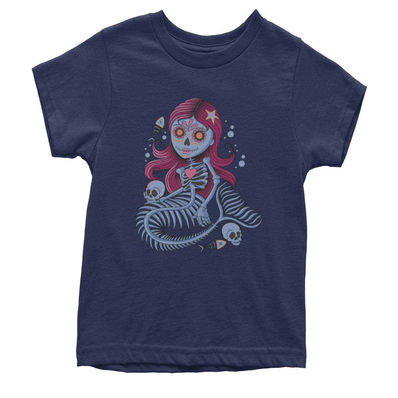 Expression Tees Mermaid Skeleton Youth T-Shirt