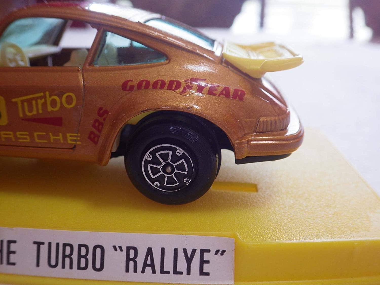 Amazon.com: Guisval (Spain Metallic Gold Porsche 930 Rally (Motul) Diecast 1:36 Nib: Toys & Games