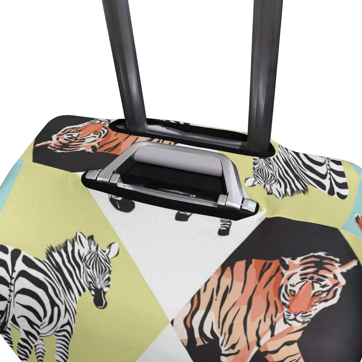 GIOVANIOR Tiger Leopard Flamingo Zebra Luggage Cover Suitcase Protector Carry On Covers