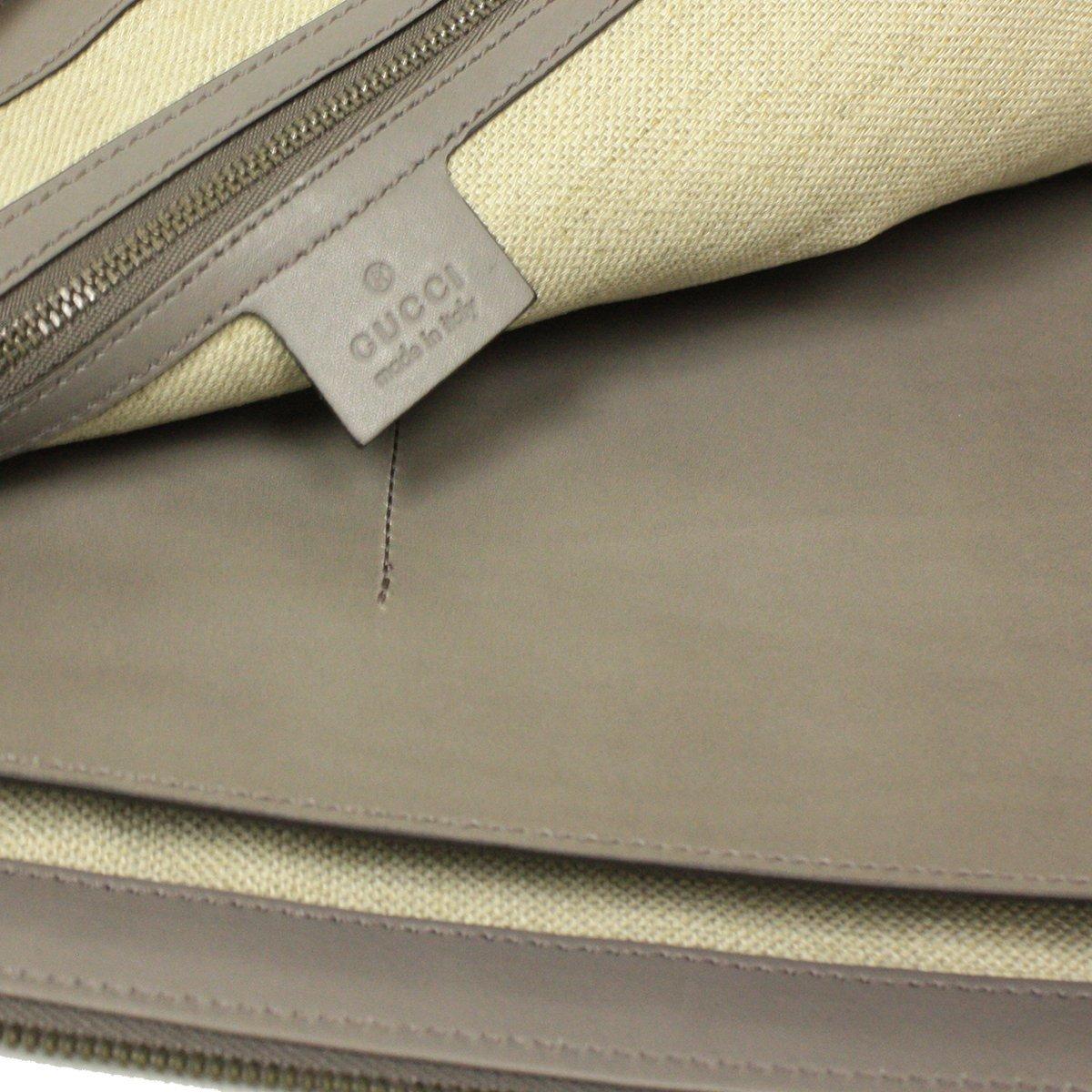 a9149c112075 Amazon.com: Gucci Grey Duilio Brogue Zip Oversized Leather Clutch Handbag  Bag: Shoes