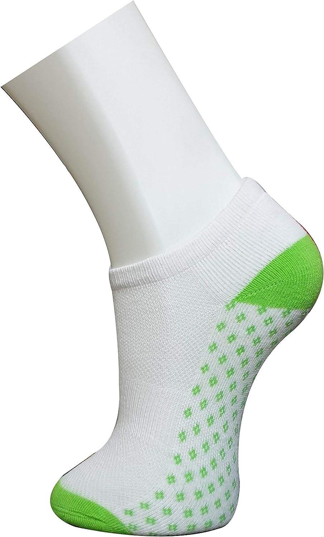LAVIQUE/® Socks for Women Ankle Athletic Trainer Socks Low Cut Sports Socks Multi Color Fancy Cotton Rich Running Socks No Show Trainer Socks Fancy Socks UK Size 4-6