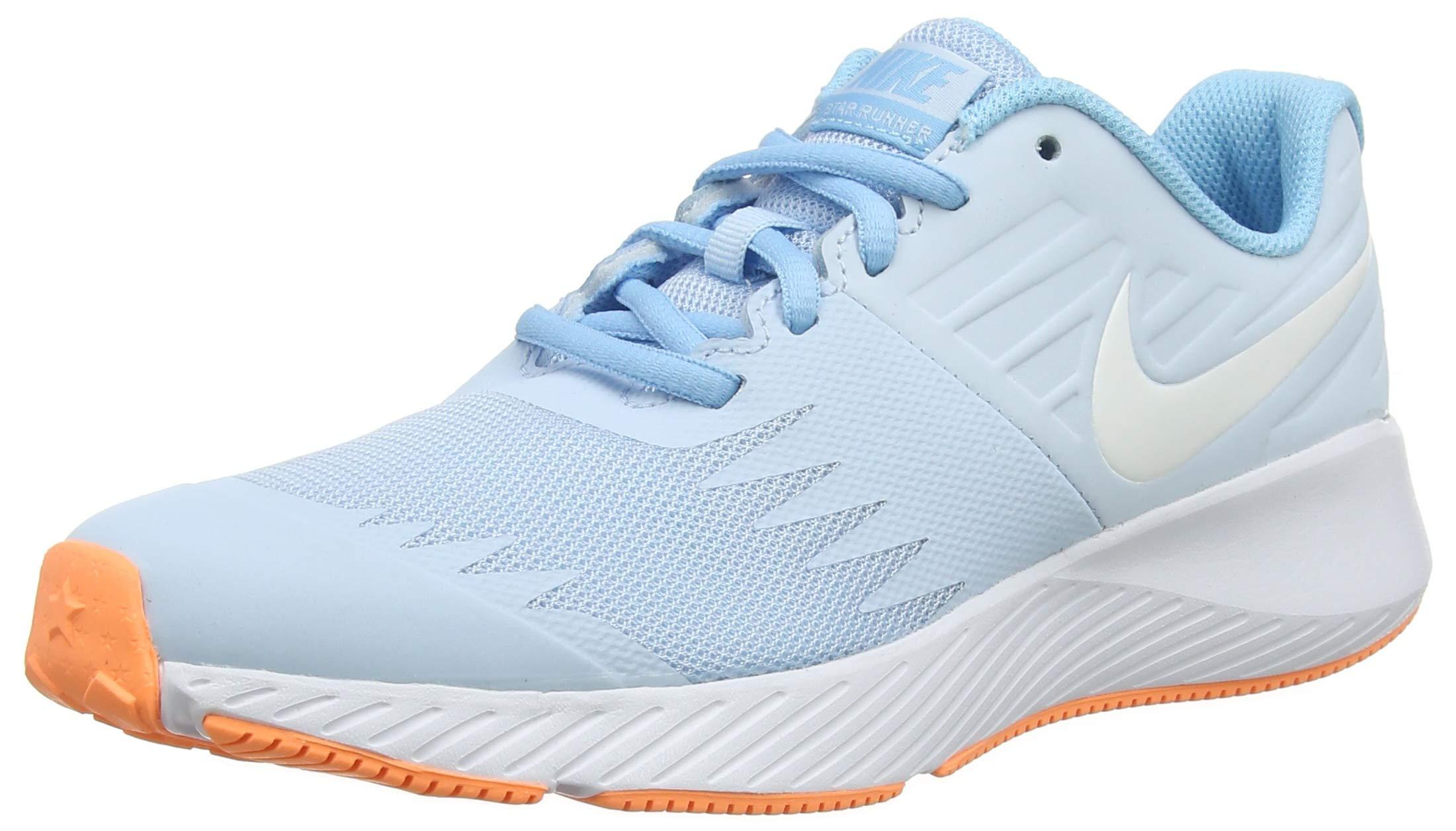 Nike Girl's Star Runner (GS) Running Shoe Cobalt Tint/White/Blue Chill Size 3.5 M US