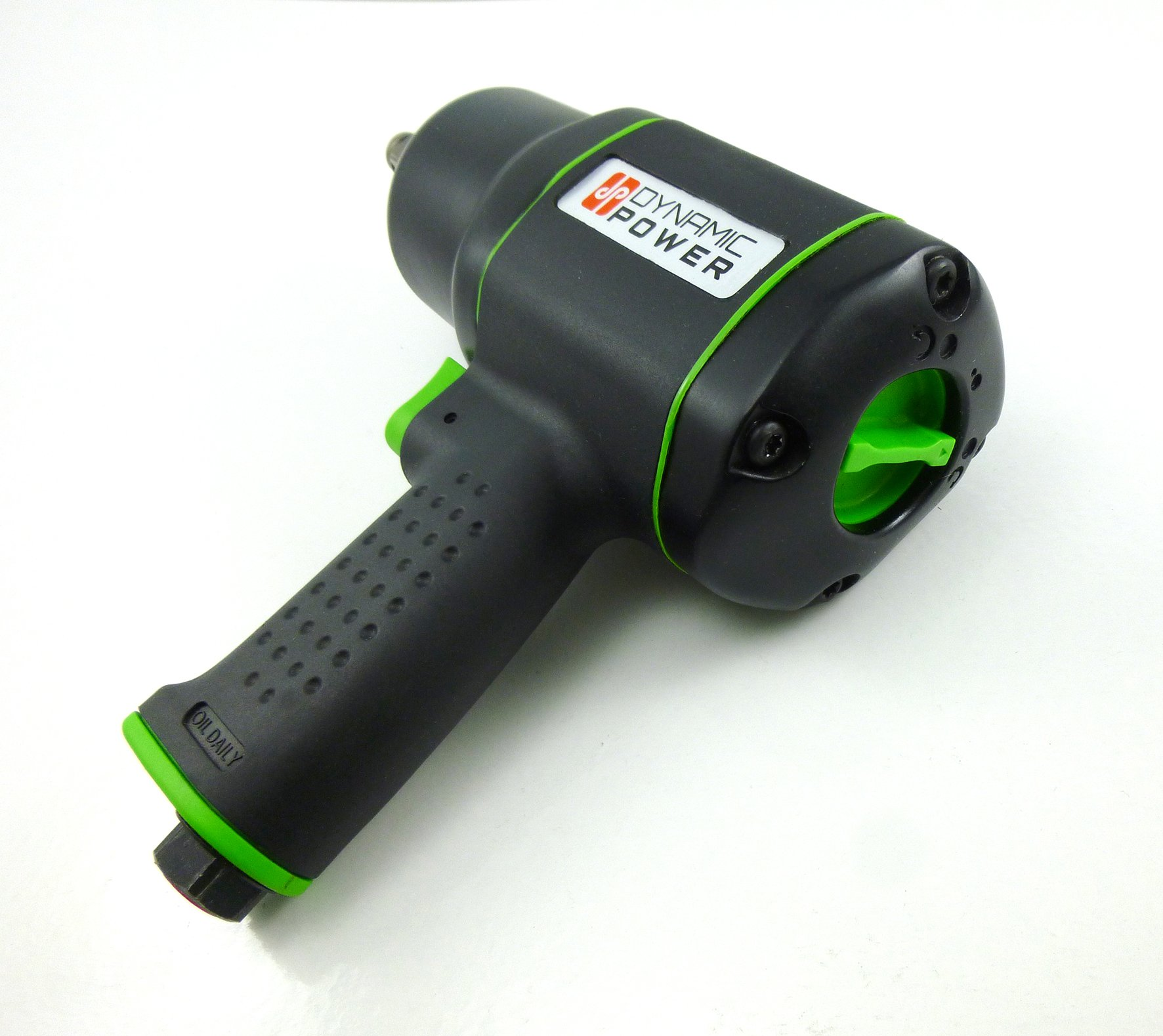 Dynamic Power 1/2 in. Air Impact Wrench Lightweight Composite Pneumatic 600ft/lb Torque by Dynamic Power (Image #2)