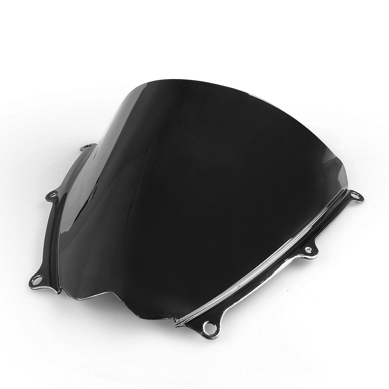 Artudatech Windshield WindScreen Double Bubble For Suzuki GSXR 1000 2007-2008 K7 Black丨ABS Plastic Injection
