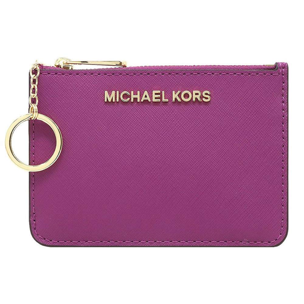 Michael Kors Jet Set Travel Small Top Zip Coin Pouch ID Card Case Wallet by Michael Kors