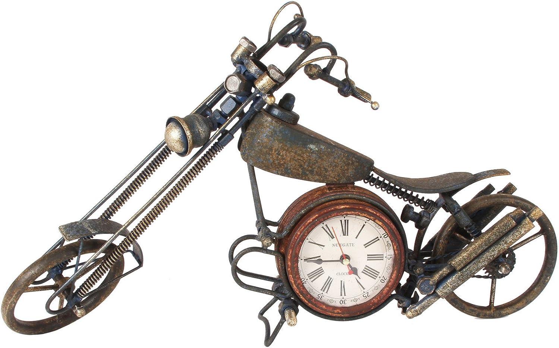 Vintage Chopper Estilo Moto motocicleta metal mesa escritorio ...
