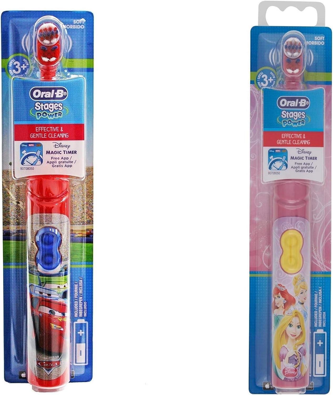 Oral-B Stages DB2010 - Cepillo cepillo de dientes para niños, 1 ...