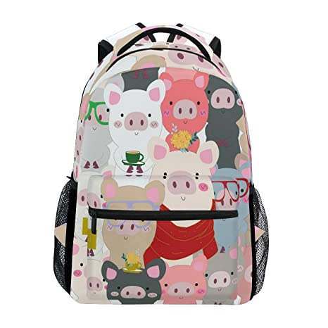 855ff8f229b5 Amazon.com  ShineSnow Baby Pig Blue Grey Pastel Cartoon Laptop ...