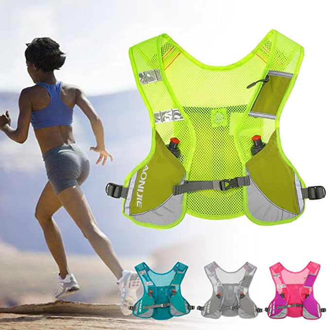 Amazon.com: AONIJIE Marathon Running Vest Pack Water Hydration Backpack Outdoor Sport Bag Cycling Camping Climbing Rucksack,Blue: Sports & Outdoors