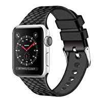 Deals on Wishta Silicone Iwatch Bands Compatible With Apple 38mm