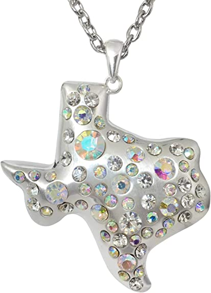 Texas Ranger Star or Lone Star State Silver Charm for Jewelry Making or Gifts