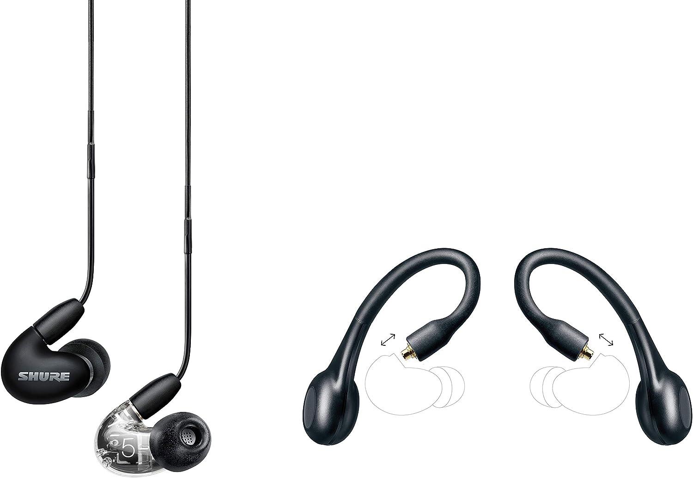 Shure Aonic 5 True Wireless Bundle Mit Se535 Sound Isolating Ohrhörern Rmce Tw1 True Wireless Adapter Schwarz Musikinstrumente
