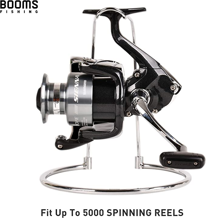 Details about  /Metal Detachable Fishing Wheel Display Bracket Stand Rack Spinning Reel Holder