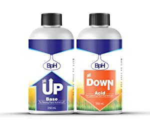 Biopharm pH Up and pH Down Control Kit   250 mL   Achieve The Perfect pH   Great for Aquaponics and Hydroponics