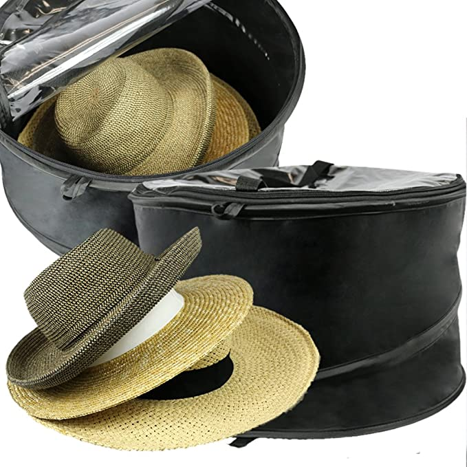 Amazon.com  The Elixir Deco Premium Hat Pop up Storage Bag 7393bd2e3ceb
