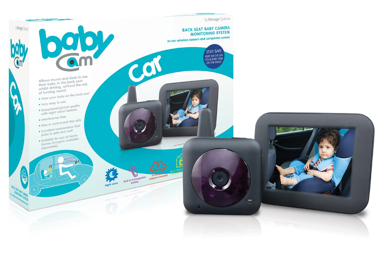 Storage Options 53395 BabyCam Car Wireless In-Car Digital Video Baby