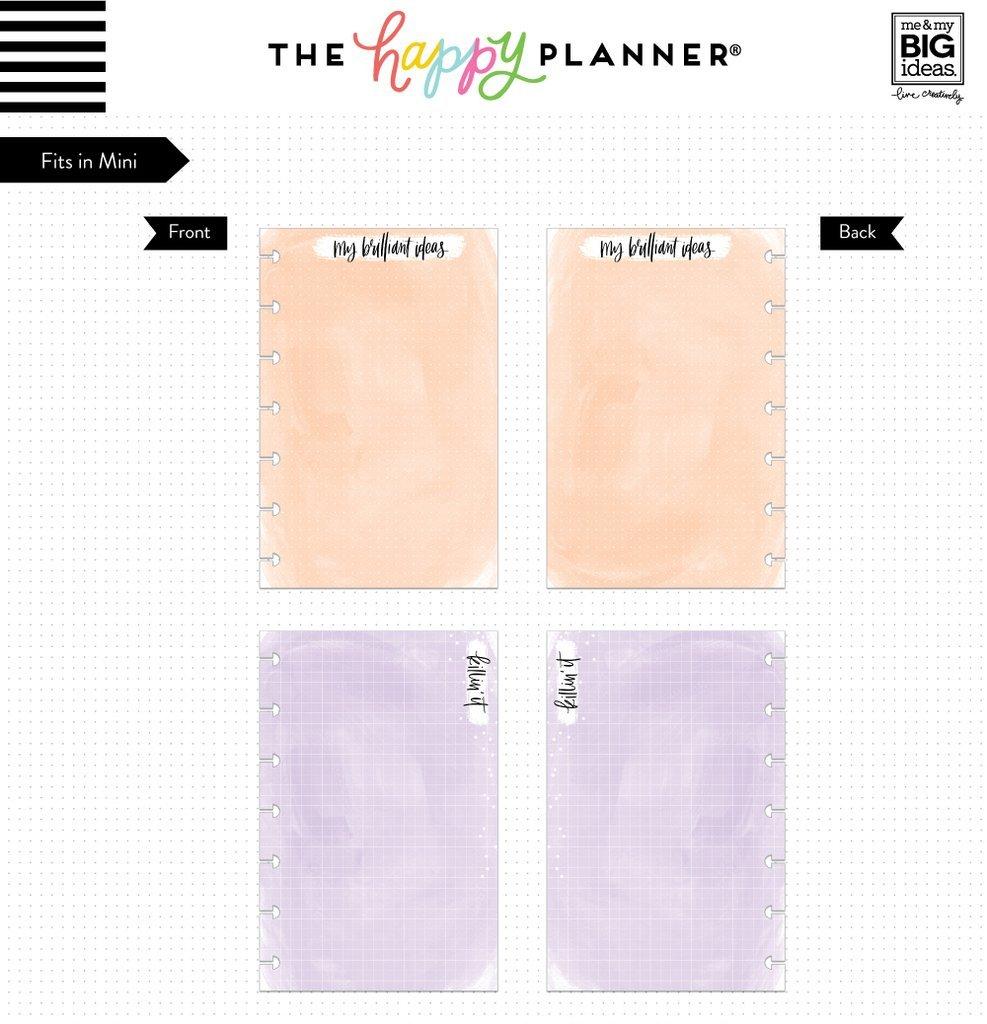 Set of 2 me /& My Big Ideas Create 365 Mini Fill Project Sheets /& Mini Fill Watercolor Paper