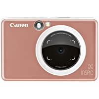 Canon iNSPiC S Instant Camera with Smartphone connectivity - Rose Gold (SGOLD)