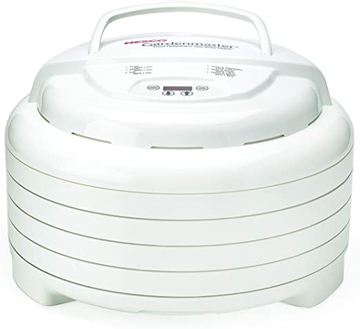 Nesco FD-1040 Gardenmaster Food Dehydrator, White - Reliable Brand