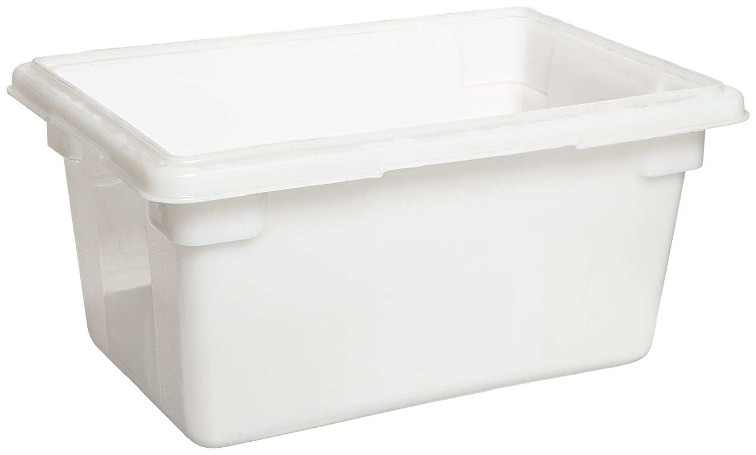 Rubbermaid Commercial Products FG350400WHT 5-Gallon White Food/Tote Box