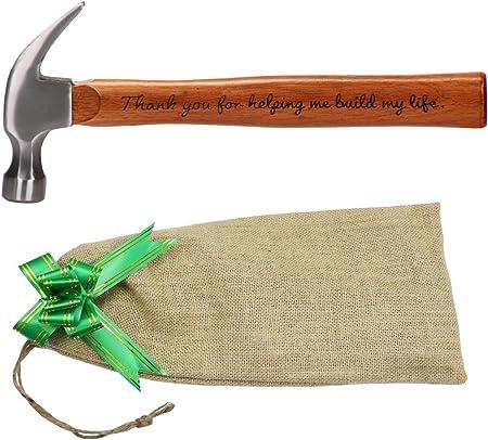 Amazon.com: Langxun - Martillo de acero con mango de madera ...