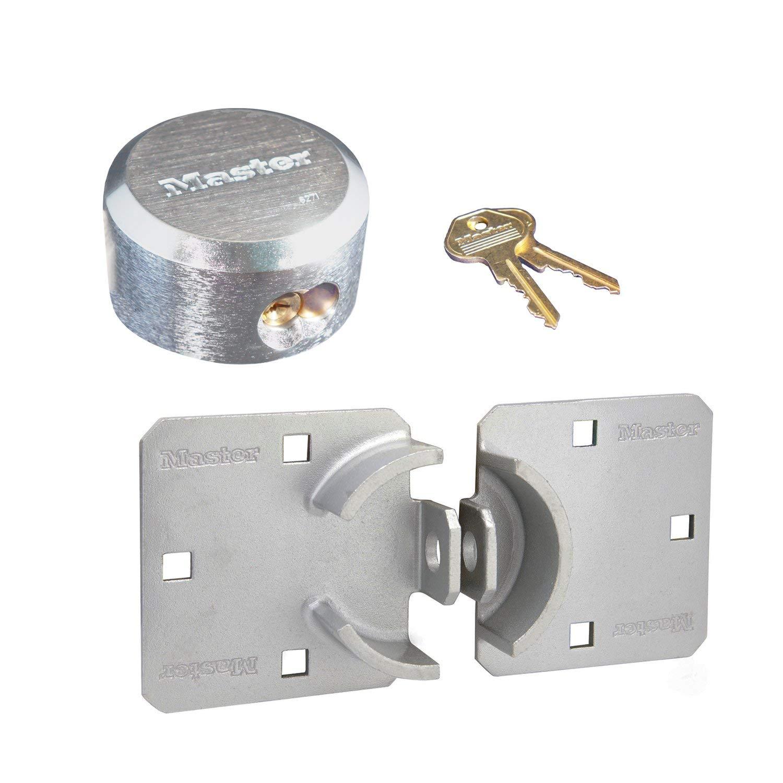 Master Lock Hasp/Hidden Shackle Keyed Alike Padlocks 770-6271KA by Master Lock