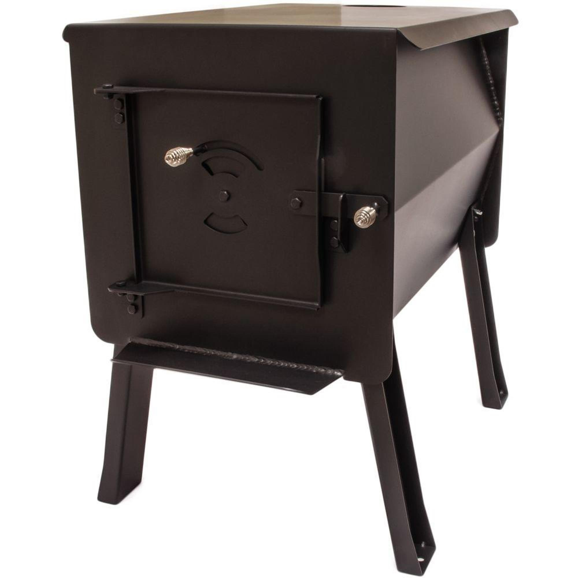 England's Stove WorksSurvivor 12-CSL  ''Grizzly'' Portable Camp/Cook Wood Stove 2.7 Cubic Feet by England's Stove Works