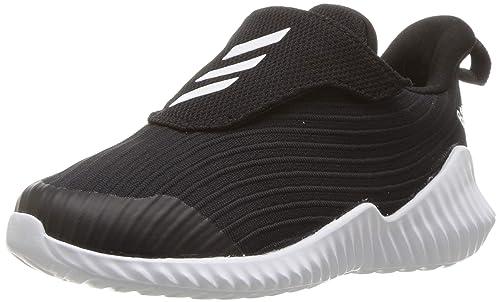 new concept 8964d a619d adidas Originals Unisex-Kids Fortarun Running Shoe, Black White Black, 1