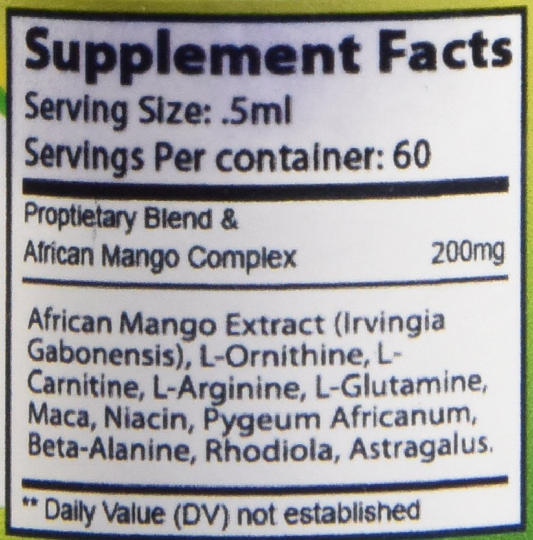 Revitalize Weight Loss Drops - Including ebooks to Help with Your Success-African Mango Extract-Safe for Men and Women-1 Per Package -1oz by JKS Health Products (Image #3)