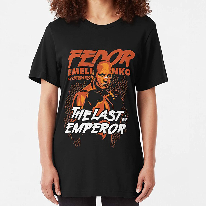 Fedor Emelianenko Slim Fit TShirt Sweatshirt For Mens Womens Ladies Kids Unisex Hoodie