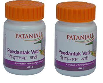 Other Natural Remedies Divya Patanjali Peedantak Vati 80 Tablets Fast Shipping