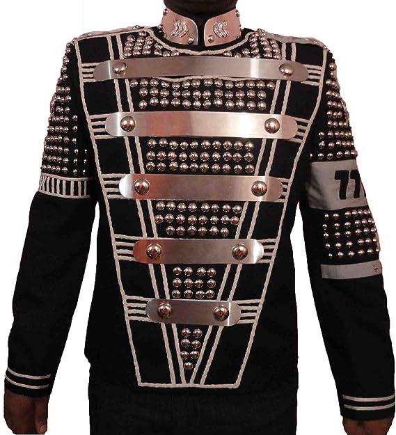 Michael Jackson Diseño militar de pareja de promocional chaqueta de hípica para niños Wear Grammy Awards