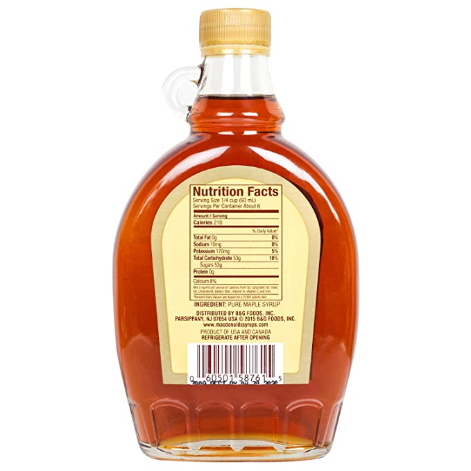 What happens if you dont refrigerate pure maple syrup