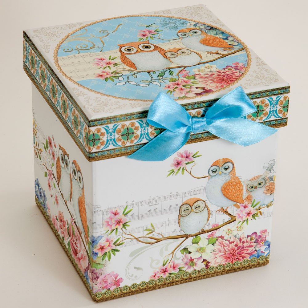 Bits and Pieces - Tea For One Owls Porcelain Teapot and Cup - Adorable Owl Design by Bits and Pieces (Image #3)
