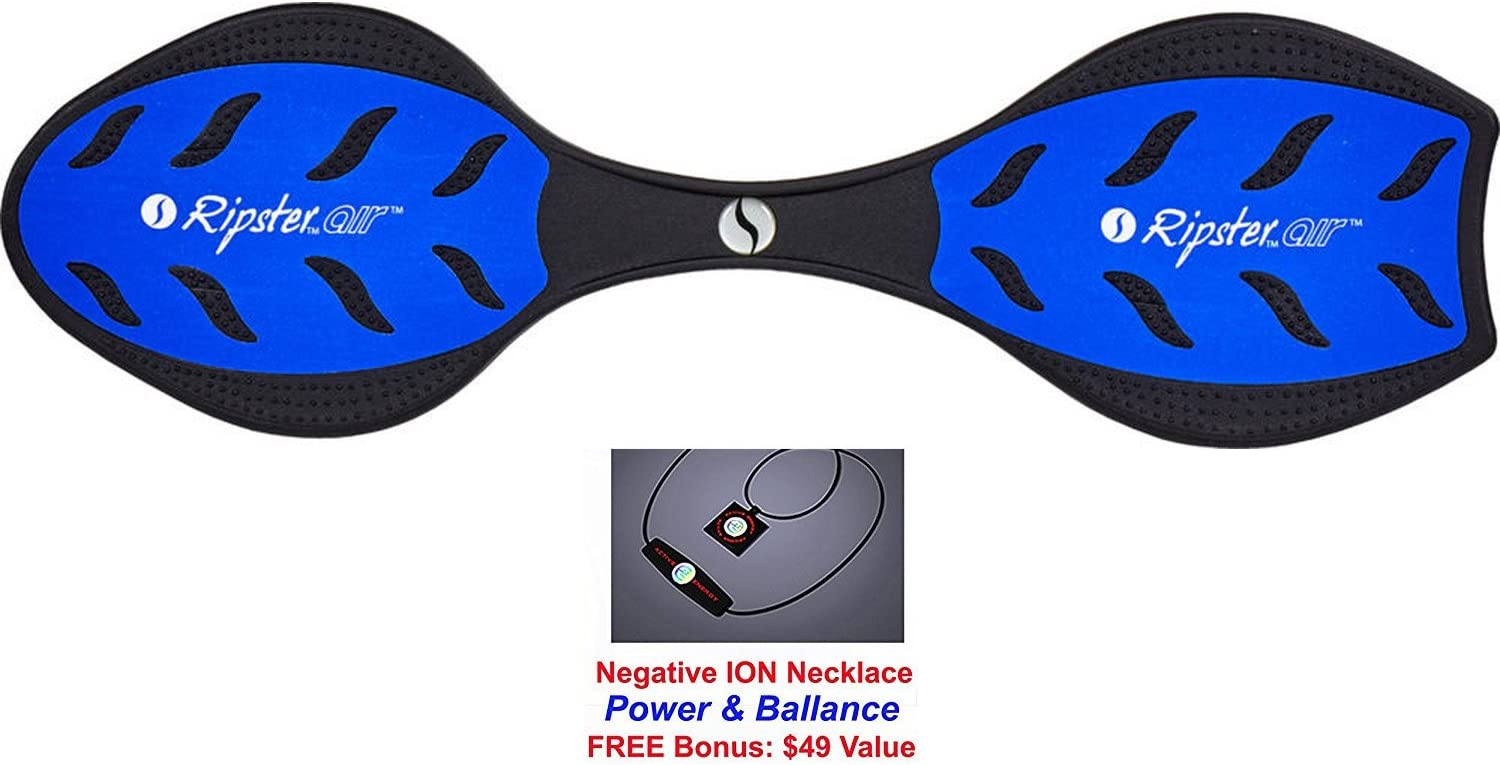 Active Energy Power Balance Necklace $49 Value BLUE Razor RipSter Air Caster//Wave Board Bonus