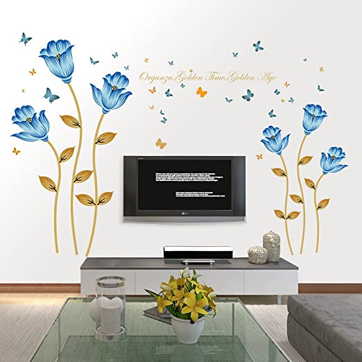 1Pc Wall Stickers Wall Decals Background Wallpaper Wall Poster for Hotel Bedroom