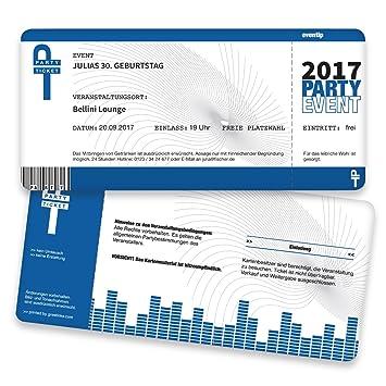 Einladungen Karte 20 St/ück Einladungskarte Kindergeburtstag Junge Druck Ihrer Texte inkl. Einladungskarten Geburtstag als Fu/ßballticket