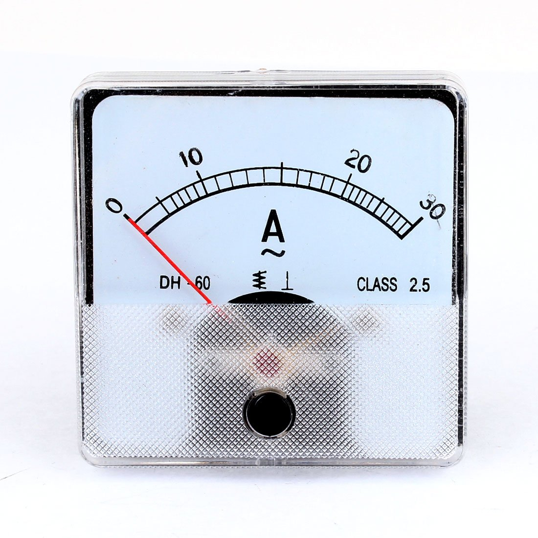Analog Meter Needle : Uxcell ac a square analogue needle amperemeter panel