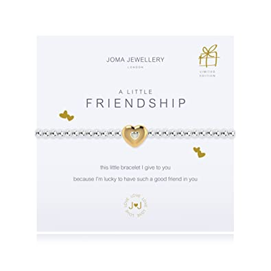 Joma Jewellery - A Little With Love - Gold Heart Bracelet - Limited Edition fDpDUpHWWf