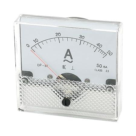 Screw Mounted Analog AC 0-50MA Scale Range Milliamp Panel Meter