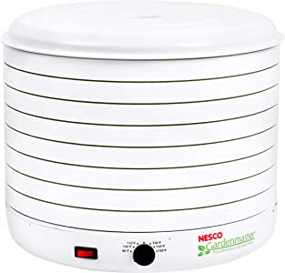 Nesco Gardenmaster 075 Food Dehydrator, 1-(Pack), White