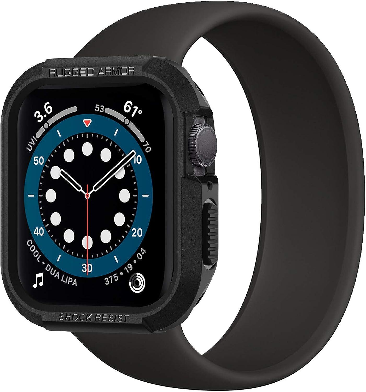 funda Spigen Apple Watch  series 6/SE/5/4 40mm negro